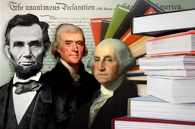 Lincoln, Jefferson & Washington