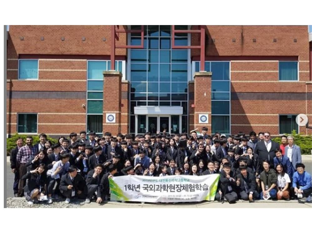 Daejeon Donsin Science High School Visits
