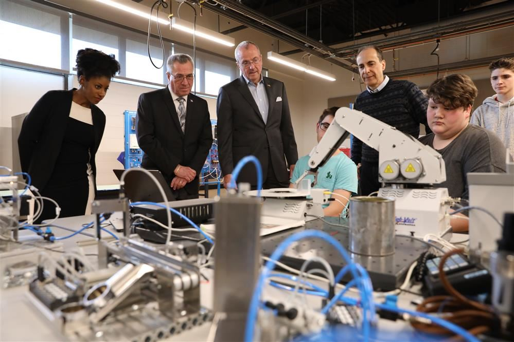 Governor Phil Murphy Visits MCVTS