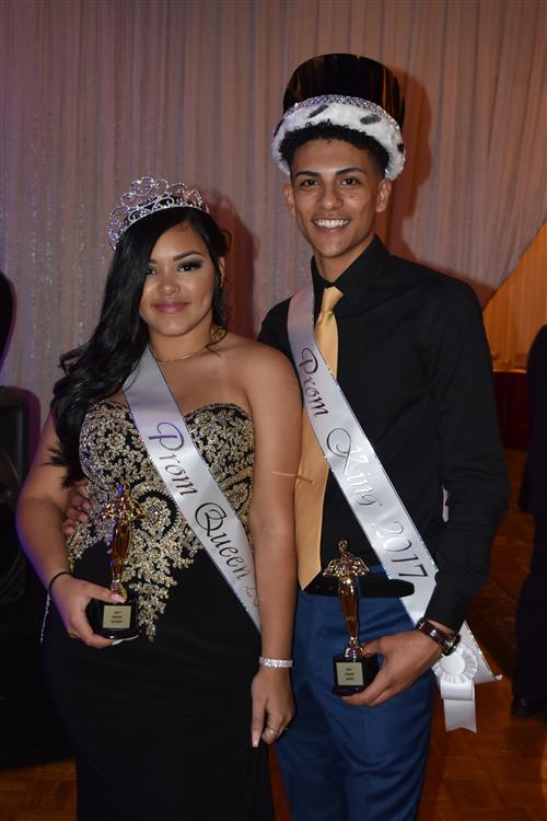 Prom 2017 King & Queen
