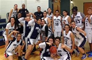 Lady Patriots with PAPD